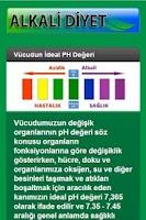 Screenshot of Alkali Diyet