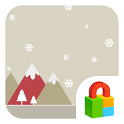Pastel Snow Dodol Locker Theme icon
