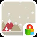 Pastel Snow Dodol Locker Theme icon