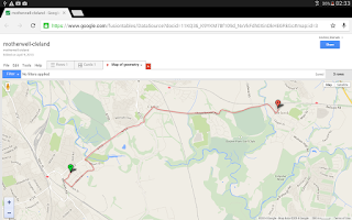 Screenshot of Map Pad GPS Surveys & Measure
