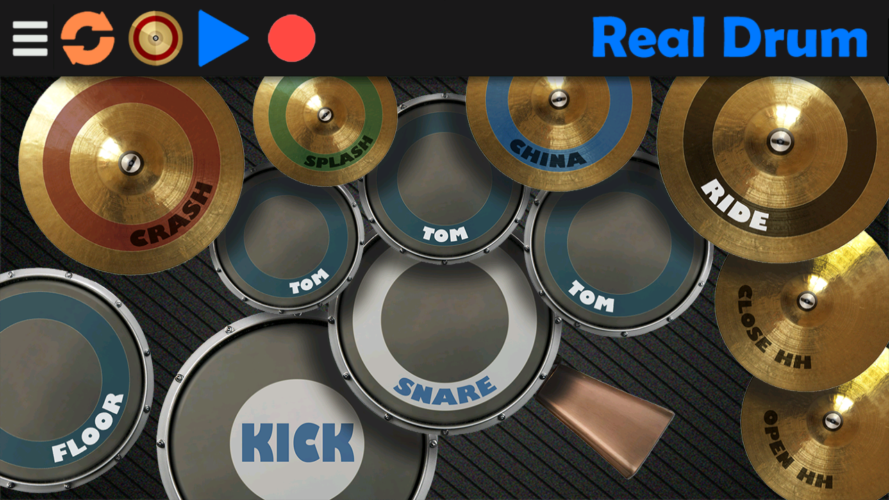 Real Drum - screenshot