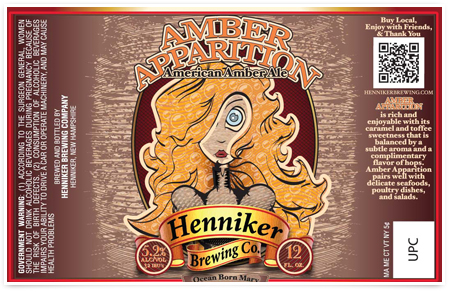 Logo of Henniker Amber Apparition