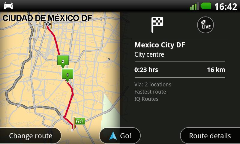 TomTom Mexico - screenshot