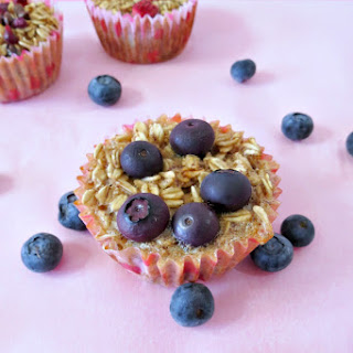 Individual Baked Oatmeal Cups.