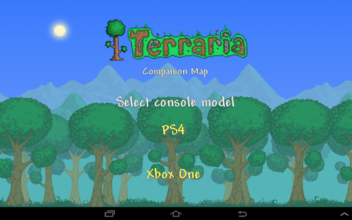 Terraria World Map- screenshot thumbnail