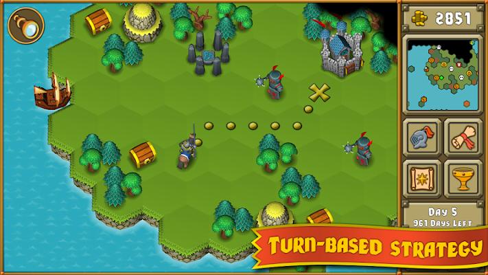 Heroes : A Grail Quest - screenshot