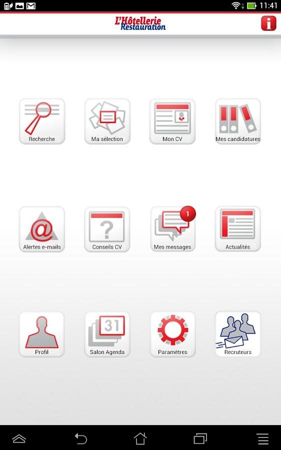 LHR Emploi - screenshot