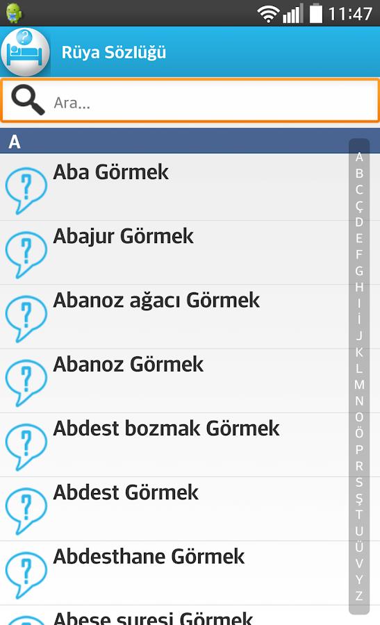 Rüyalar Tabiri - Android Apps on Google Play