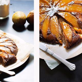 Upside-Down Mango Banana Cake.