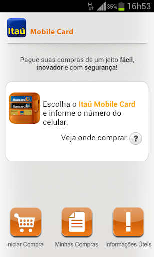 Itaú Mobile Card