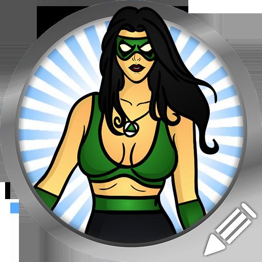 如何绘制:女性超级英雄 家庭片 App LOGO-APP開箱王