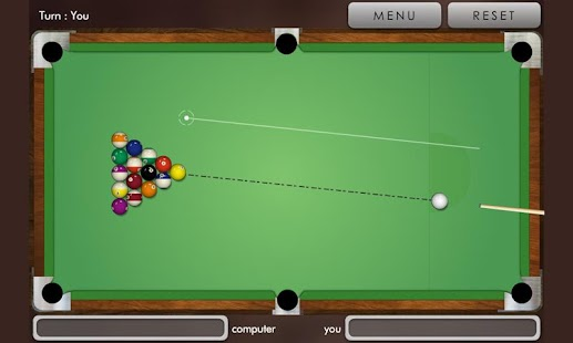 Pool billiard ! - screenshot thumbnail