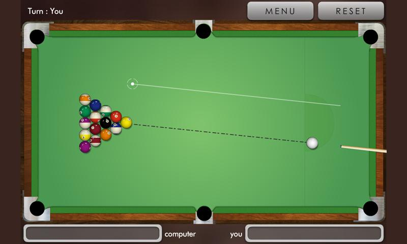 Pool billiard ! - screenshot
