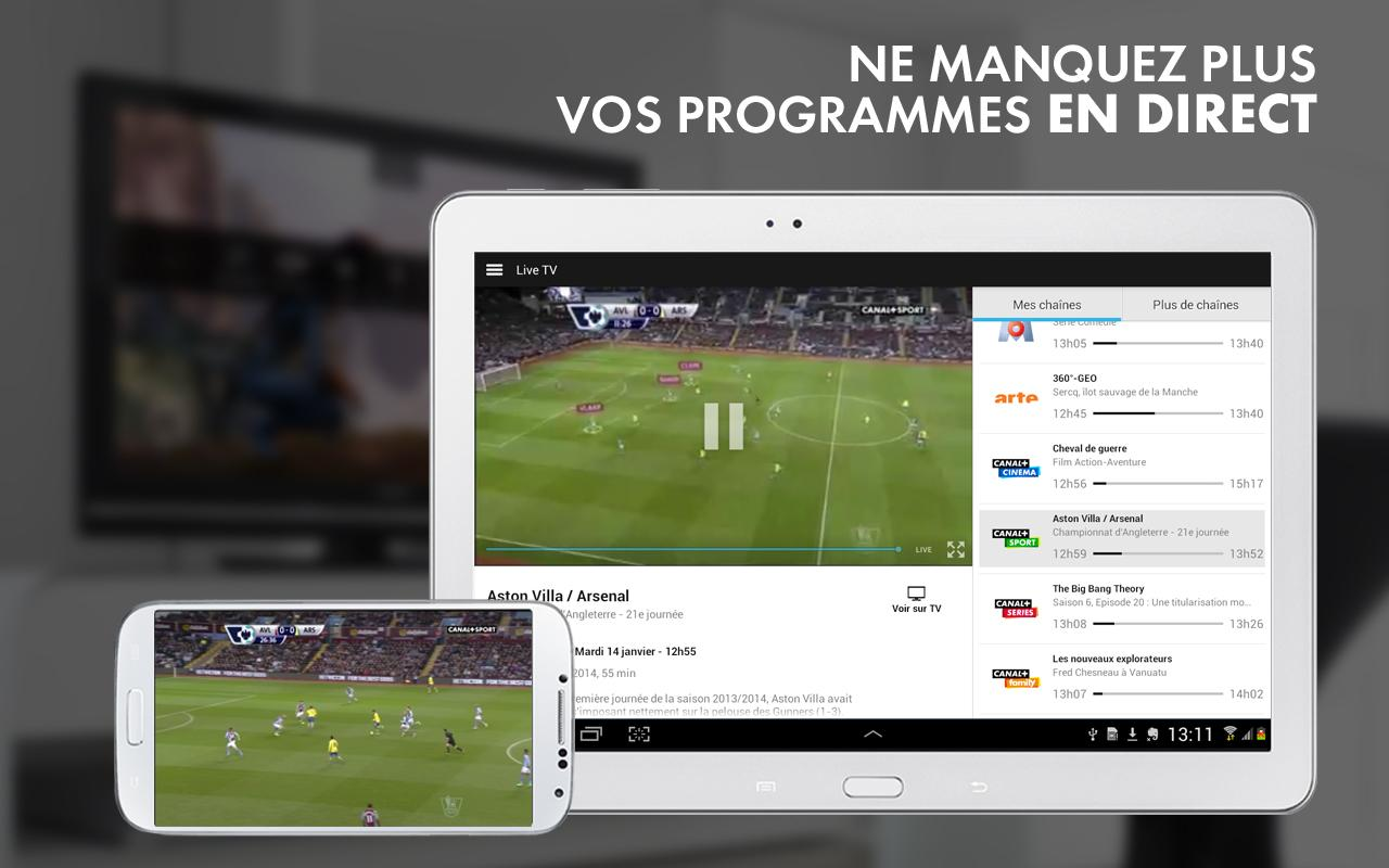 myCANAL Réunion, par CANAL+ - screenshot