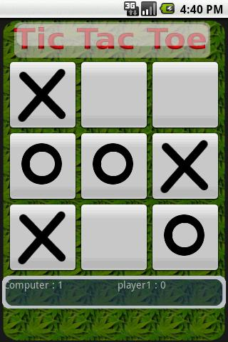 Tic Tac Toe Classic- screenshot