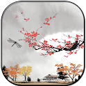 Eastern autumn 3D icon