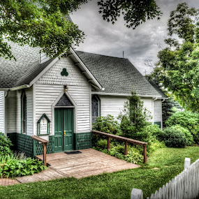 St. Mary's Episcopal Church by RomanDA Photography - Buildings & Architecture Places of Worship ( hdr, church, green, summer )