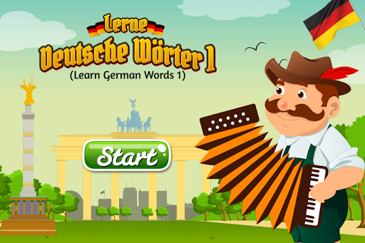 Learn First German Words
