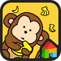 Monkey dodol launcher theme icon