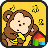 Monkey dodol launcher theme