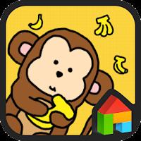 Monkey dodol launcher theme 1.1