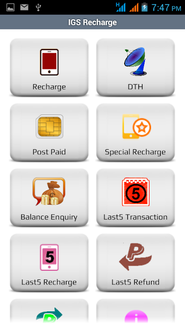 #19. IGS RECHARGE (Android)