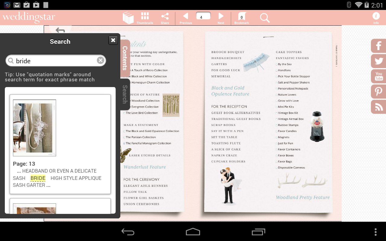Weddingstar E-Catalog - screenshot