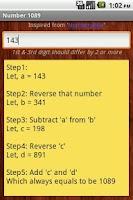 Screenshot of Number 1089