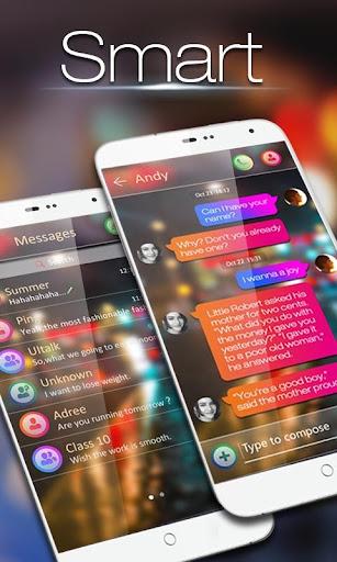 GO SMS PRO SMART THEME