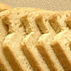 Their bread sliced beautifully.