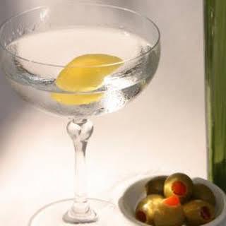 Classic Dry Gin Martini.