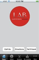 Screenshot of Lab Salon Miami