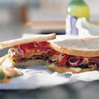 Deluxe Roast Beef Sandwich.