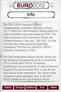Euro 2012 - screenshot thumbnail