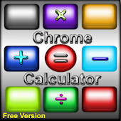 Chrome Scientific Calculator