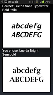 Typefaces- screenshot thumbnail