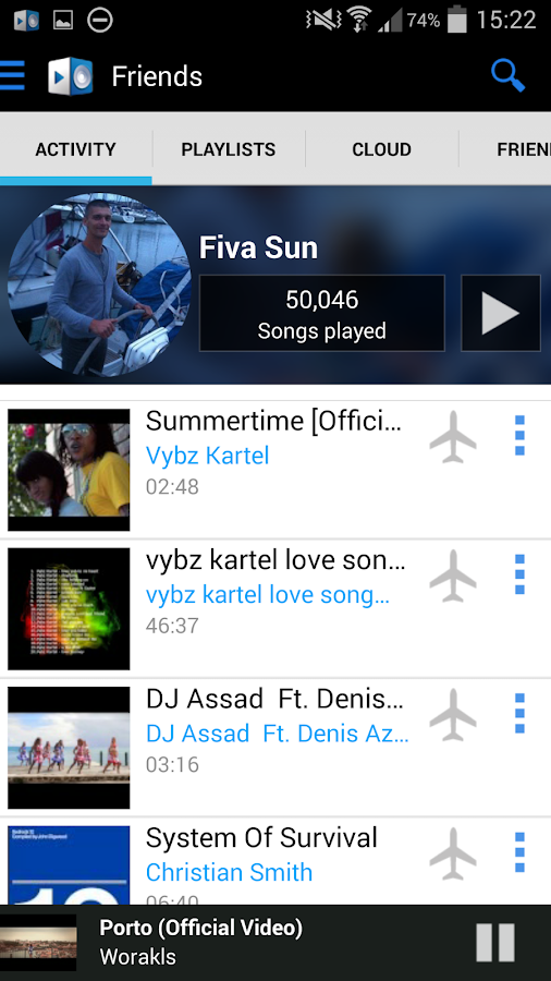 YOUZEEK Free Music Streaming - screenshot