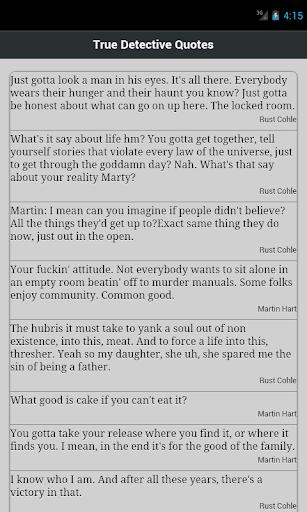 True Detective Quotes