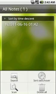 Sync Voice Note - screenshot thumbnail
