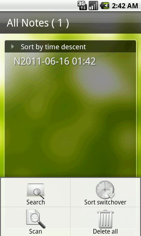 Sync Voice Note - screenshot