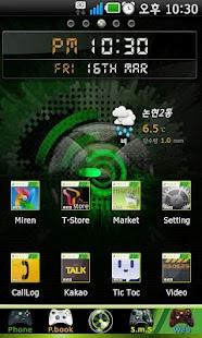 Xbox360 Go Launcher EX theme