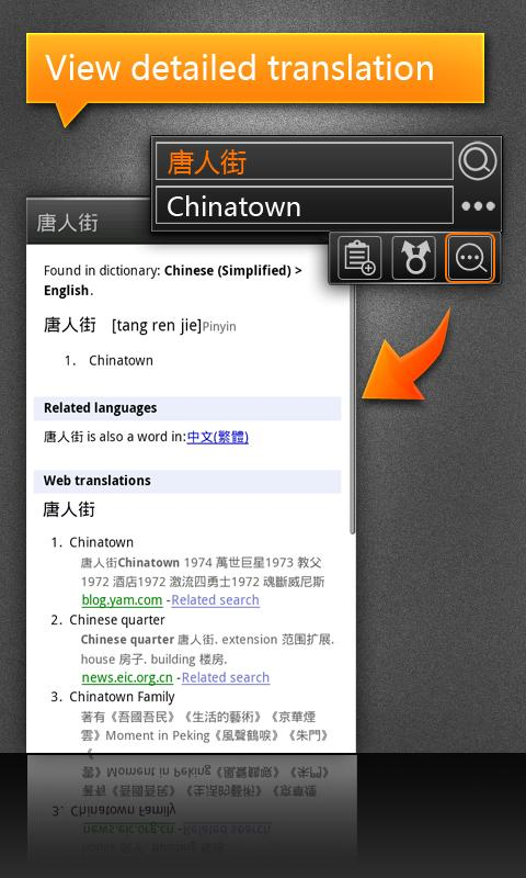 CamDictionary (License)- screenshot