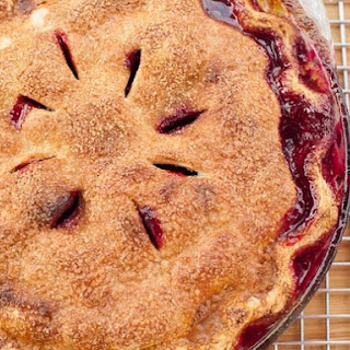 Peach and Plum Pie
