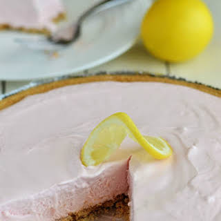 Frozen Pink Lemonade Pie.