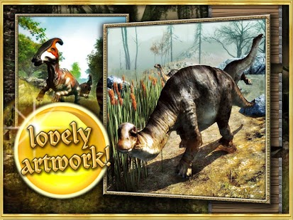 Dinosaurs walking with fun 3D- screenshot thumbnail
