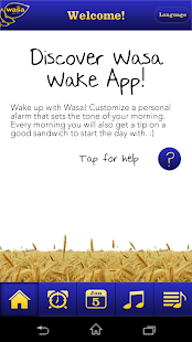 Wasa Wake App - screenshot thumbnail