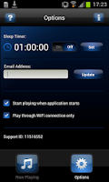 Screenshot of ABC Lounge Webradio
