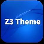 Wave Z3 Launcher Theme