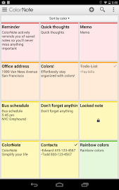 ColorNote Notepad Notes Screenshot 19