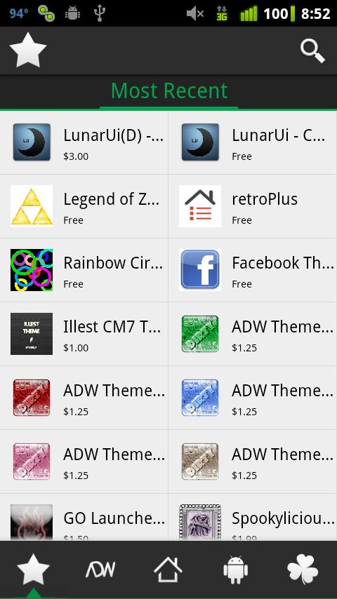 N3xGen Theme Manager - screenshot